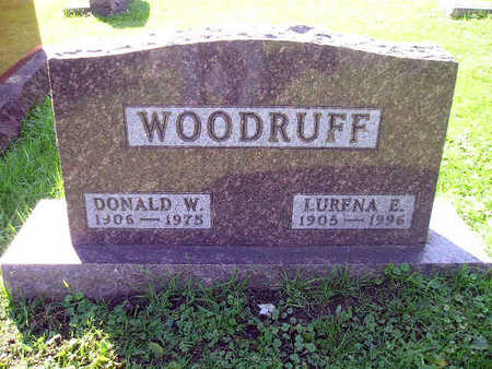 WOODRUFF, DONALD W - Bremer County, Iowa | DONALD W WOODRUFF