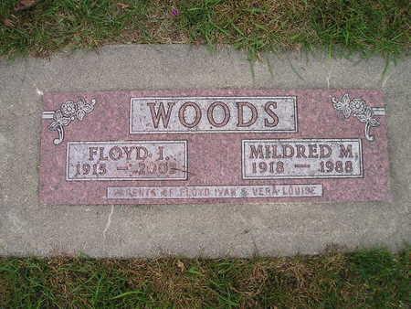 WOODS, MILDRED M - Bremer County, Iowa | MILDRED M WOODS