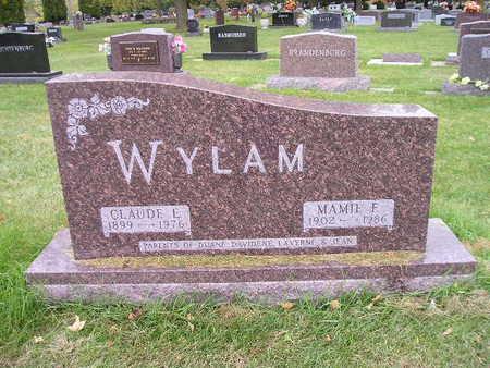 WYLAM, MAMIE F - Bremer County, Iowa | MAMIE F WYLAM