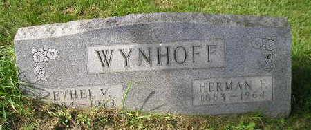 WYNHOFF, ETHEL V - Bremer County, Iowa | ETHEL V WYNHOFF