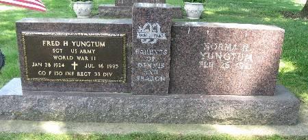 YUNGTUM, FRED H - Bremer County, Iowa | FRED H YUNGTUM