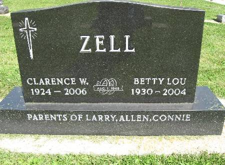 ZELL, CLARENCE W. - Bremer County, Iowa | CLARENCE W. ZELL