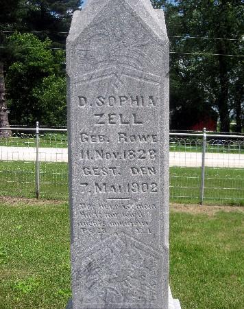 ZELL, D SOPHIA - Bremer County, Iowa | D SOPHIA ZELL