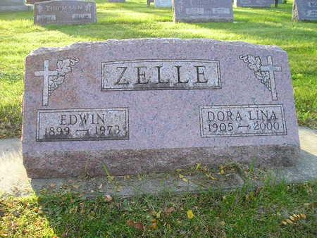 ZELLE, EDWIN - Bremer County, Iowa | EDWIN ZELLE