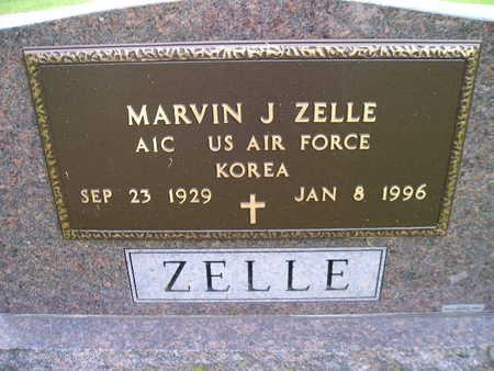 ZELLE, MARVIN J - Bremer County, Iowa   MARVIN J ZELLE
