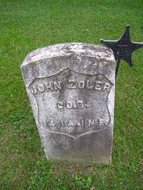ZOLER, JOHN - Bremer County, Iowa   JOHN ZOLER