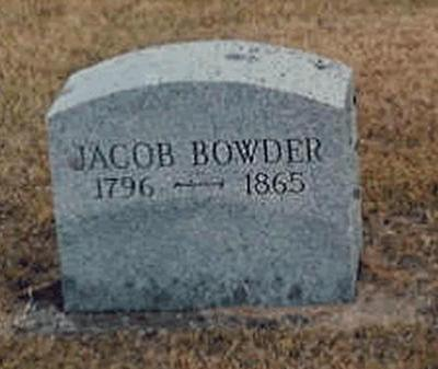 BOWDER, JACOB - Buchanan County, Iowa | JACOB BOWDER