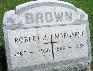 BROWN, ROBERT J. - Buchanan County, Iowa   ROBERT J. BROWN