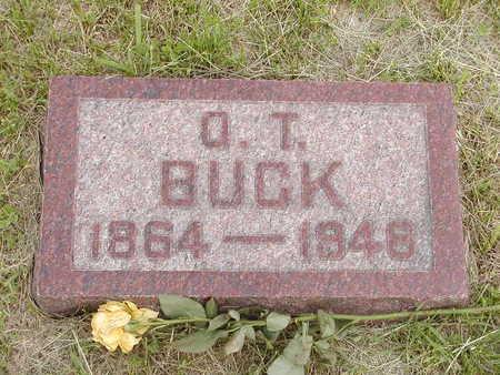 BUCK, OZRO TRUMAN - Buchanan County, Iowa | OZRO TRUMAN BUCK