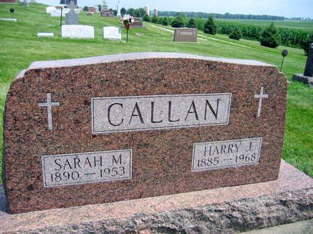 CALLAN, SARAH M. - Buchanan County, Iowa | SARAH M. CALLAN