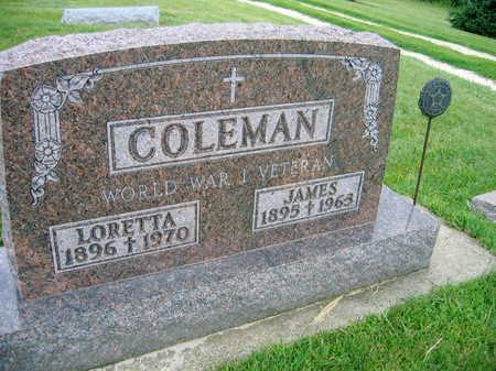 COLEMAN, LORETTA - Buchanan County, Iowa | LORETTA COLEMAN