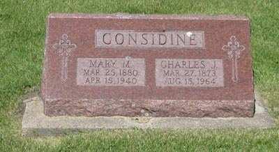 CONSIDINE, CHARLES J. - Buchanan County, Iowa   CHARLES J. CONSIDINE