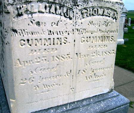 CUMMINS, WILLIAM J. - Buchanan County, Iowa | WILLIAM J. CUMMINS