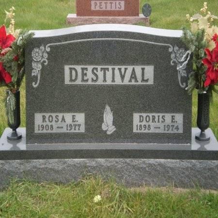 DESTIVAL, DORIS E. - Buchanan County, Iowa | DORIS E. DESTIVAL