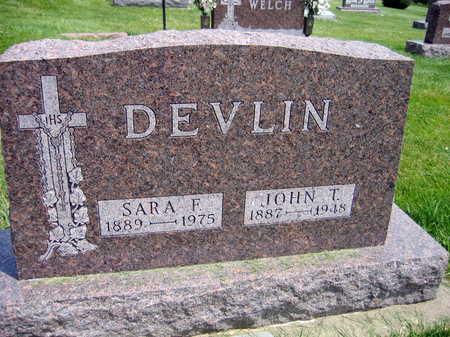 DEVLIN, JOHN T. - Buchanan County, Iowa | JOHN T. DEVLIN