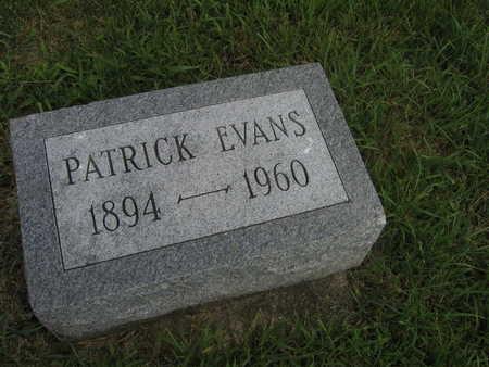 EVANS, PATRICK - Buchanan County, Iowa   PATRICK EVANS