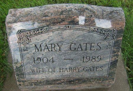 GATES, MARY - Buchanan County, Iowa   MARY GATES