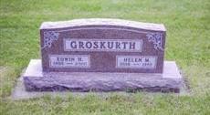 REICHERS GROSKURTH, HELEN - Buchanan County, Iowa | HELEN REICHERS GROSKURTH