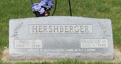 HERSHBERGER, FRANCES H. - Buchanan County, Iowa   FRANCES H. HERSHBERGER