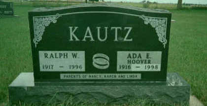 KAUTZ, ADA - Buchanan County, Iowa | ADA KAUTZ