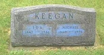 KEEGAN, IDA & MICHAEL - Buchanan County, Iowa | IDA & MICHAEL KEEGAN