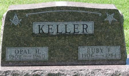 WILLIAMS KELLER, RUBY FRANCES - Buchanan County, Iowa   RUBY FRANCES WILLIAMS KELLER