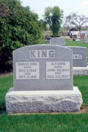 CUSTARD KING, SARAH - Buchanan County, Iowa | SARAH CUSTARD KING