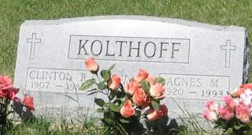 KOLTHOFF, CLINTON R. - Buchanan County, Iowa | CLINTON R. KOLTHOFF