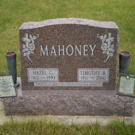 MAHONEY, TIMOTHY B. - Buchanan County, Iowa   TIMOTHY B. MAHONEY