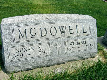 MCDOWELL, SUSAN K. - Buchanan County, Iowa   SUSAN K. MCDOWELL