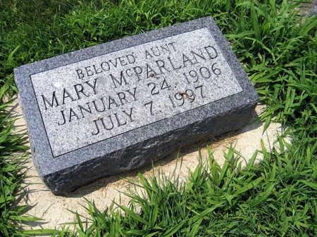 MCPARLAND, MARY - Buchanan County, Iowa | MARY MCPARLAND
