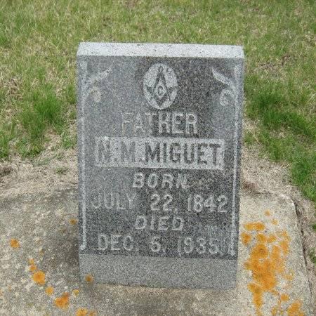 MIGUET, N.M. - Buchanan County, Iowa | N.M. MIGUET