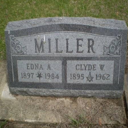 MILLER, EDNA A. - Buchanan County, Iowa | EDNA A. MILLER