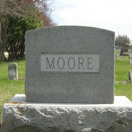 MOORE, HEADSTONE - Buchanan County, Iowa | HEADSTONE MOORE