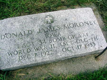 MORONEY, DONALD JAMES - Buchanan County, Iowa | DONALD JAMES MORONEY