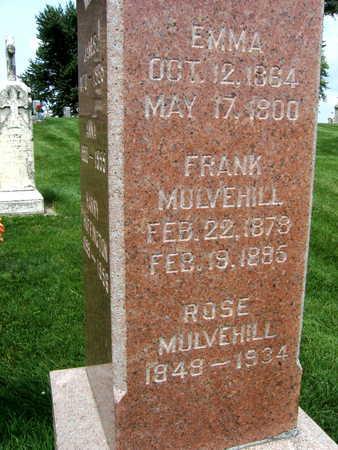 MULVEHILL, FRANK - Buchanan County, Iowa | FRANK MULVEHILL