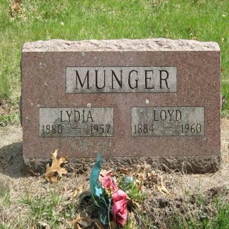 MUNGER, LYDIA - Buchanan County, Iowa   LYDIA MUNGER