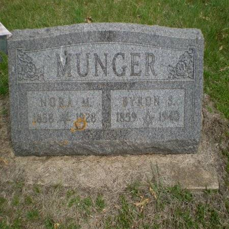 MUNGER, BYRON S. - Buchanan County, Iowa   BYRON S. MUNGER