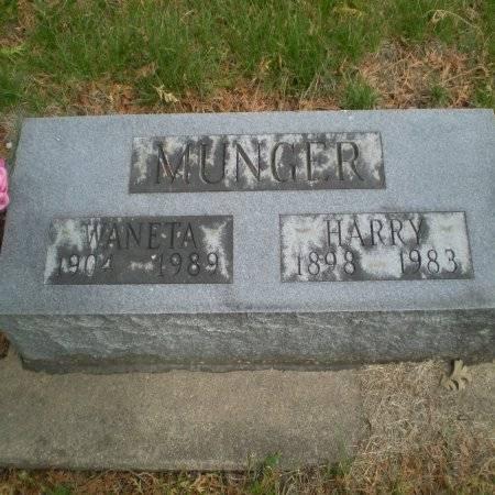 MUNGER, WANETA - Buchanan County, Iowa | WANETA MUNGER