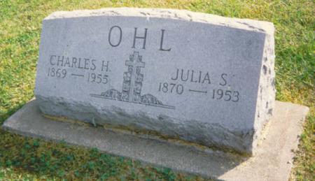 OHL, CHARLES H. - Buchanan County, Iowa | CHARLES H. OHL