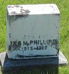 PHILLIPS, UNKNOWN CHILD - Buchanan County, Iowa | UNKNOWN CHILD PHILLIPS