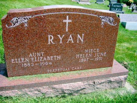 RYAN, ELLEN ELIZABETH - Buchanan County, Iowa | ELLEN ELIZABETH RYAN