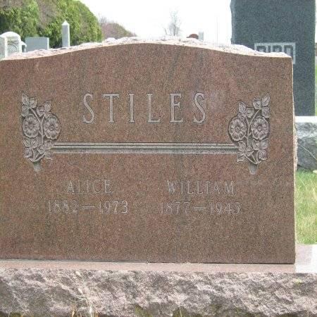 STILES, WILLIAM - Buchanan County, Iowa   WILLIAM STILES