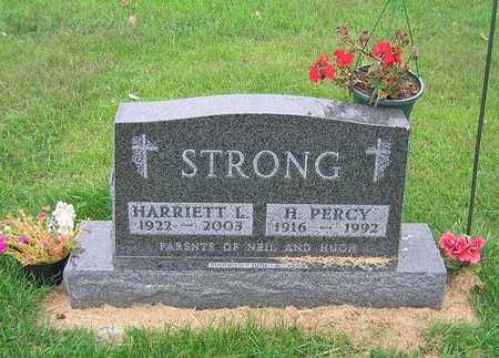 STRONG, HARRIETT LOUISE - Buchanan County, Iowa | HARRIETT LOUISE STRONG