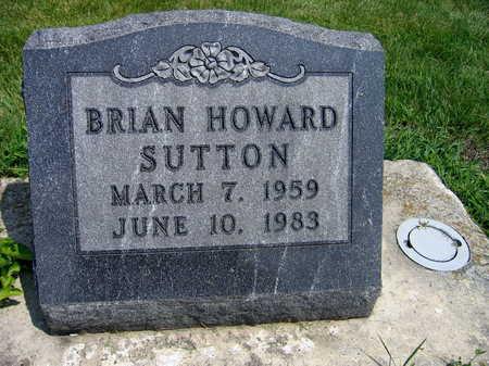 SUTTON, BRIAN HOWARD - Buchanan County, Iowa | BRIAN HOWARD SUTTON