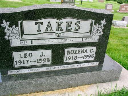 TAKES, LEO J. - Buchanan County, Iowa | LEO J. TAKES