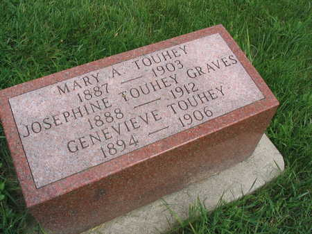 TOUHEY, MARY A. - Buchanan County, Iowa | MARY A. TOUHEY