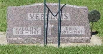VERSLUIS, EMIL - Buchanan County, Iowa   EMIL VERSLUIS