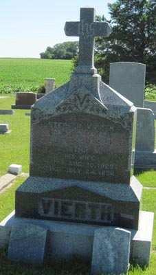 VIERTH, AGATHA M. - Buchanan County, Iowa | AGATHA M. VIERTH