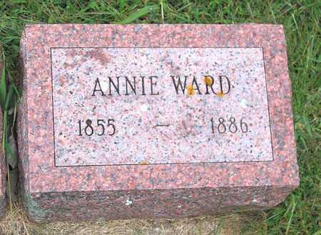 WARD, ANNIE - Buchanan County, Iowa   ANNIE WARD
